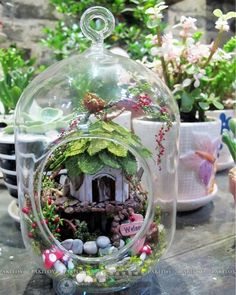 Jungle Witch wooden doll houses miniature assembling dollhouse diy glass ball toys kit free shipping
