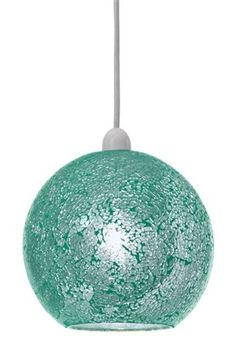 Buy Teal Crackle Pendant from the Next UK online shop Next Uk, Uk Online, Teal, Decorations, Lighting, Pendant, Shop, Stuff To Buy, Dekoration