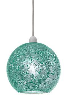 Buy Teal Crackle Pendant from the Next UK online shop Next Uk, Uk Online, Teal, Decorations, Lighting, Pendant, Shop, Stuff To Buy, Light Fixtures