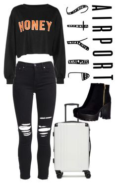 """""""Untitled #96"""" by cwazyjayjay on Polyvore featuring AMIRI, CalPak and airportstyle"""