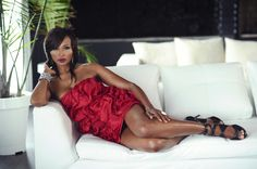 Real Housewives personality Cynthia Bailey shot by Drexina