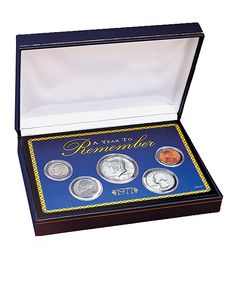 1965 to Present Year To Remember Coin Box Set