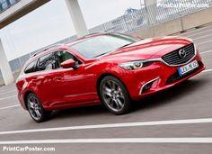 Mazda 6 Wagon 2015 poster, #poster, #mousepad, #tshirt, #printcarposter