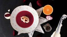 Červená kuřecí polévka (adventní)