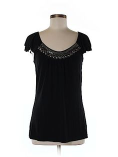 Kenar Women Short Sleeve Top Size M