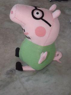 turma peppa pig feito de feltro