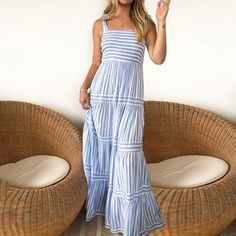 Casual Dresses, Summer Dresses, Maxi Dresses, Spring Outfits, Spring Clothes, Dress Suits, Lovely Dresses, Playing Dress Up, Smocking
