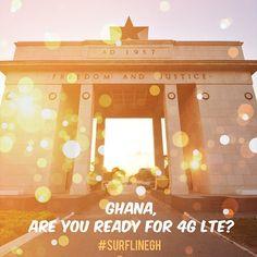 Surfline Ghana is set to bring 4G LTE service to Ghana in 2014