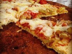 Paleo Pizza Crust!! – The Skinny Spice