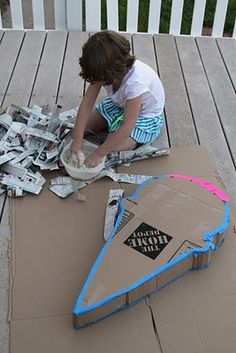 diy pinata instructions..