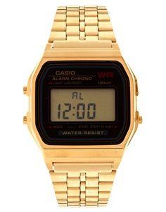 Casio A159WGEA-1EF Gold Digital Watch