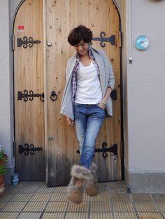 「アンコール(笑)」の画像|田丸麻紀オフィシャルブログ Power… |Ameba (アメーバ) Jeans Outfit Winter, Fall Winter Outfits, Green Fashion, Winter Fashion, Nail Jewelry, Modern Vintage Fashion, Outdoor Fashion, Japanese Models, Weekend Wear