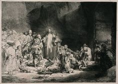 "The Hundred Guilder Print, Rembrandt, 1646-50, p.569 (""the Hundred Guilder Print as it was called: the price that Rembrandt himself, according to legend, had been forced to pay to buy it back."")"
