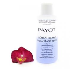 Payot Demaquillant Instantane Yeux – Dual-Phase Waterproof Make-up Remover 200ml - easily and gently eliminates all traces of eye and lip make-up, even waterproof. #Payot #salonsize #makeupremover #cleanser #skincare #beauty #lips #eyes