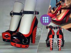 Moar Harley Quinn Heels... by squarefountain
