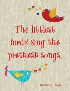For my sweet song bird Caleb Wayne! I love your little tunes you sing (they remind me of myself at your age!)