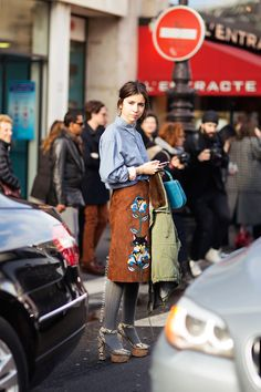 Natasha Goldenberg http://carolinesmode.com/stockholmstreetstyle/art/318191/natasha_goldenberg/