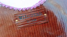 Details @wildstarlondon handstitched in the traditional Wildstar way with beautiful Velvet ribbon