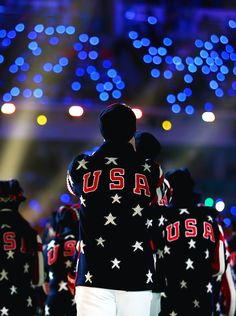 ~ Remember growing up, imagining being in the Olympics and cheering on the ones who made it? Your families sacrifice is a blessing. We are so proud of you!~