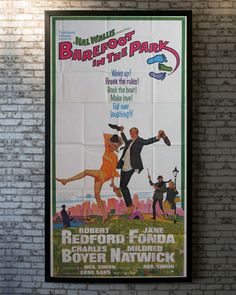 Corie, a free-spirited young girl, marries Paul, a conservative lawyer. The couple stay in an apartment in Greenwich Village. The couple goes through rough patches due to a difference in opinion. Simon Neil, Barefoot In The Park, Original Movie Posters, Greenwich Village, Present Day, Lawyer, 1960s, Patches, Couple
