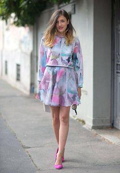 Street Style Semana da Moda de Milão Primavera 2014 - Milan Fashion Week Spring Street Style - Harpers Bazaar