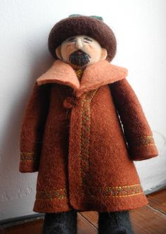 Felt  Doll from Kyrgyzstan