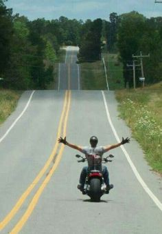 Don't be afraid to ride for what you believe in, even if it means riding alone. Amen.