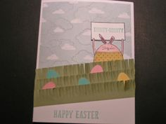 Stampin' Kat: Easter Cards are Hopping your way.......