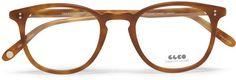 Garrett Leight California Optical Kinney D-Frame Acetate Opt... - Polyvore