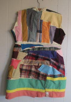 myBonny Recycled Wool Scraps Wearable Folk Art