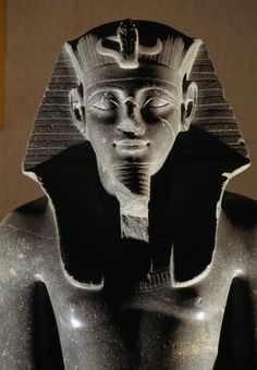 Statue of King Merenptah, thirteenth son of Ramesses II from the Temple of Luxor.