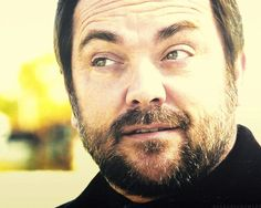 """: """" « - Do You Believe In Miracles? Mark Sheppard, Believe In Miracles, Do You Believe, Supernatural Actors, Super Natural, Crowley, The Villain, Sexy Men, It Cast"""