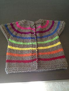 Neu Stricken Ravelry: *One Baby Sweater* pattern by Erika Flory, Baby Cardigan Knitting Pattern Free, Baby Sweater Patterns, Cardigan Pattern, Baby Knitting Patterns, Knitting Designs, Baby Patterns, Knitting Projects, Knitting For Kids, Free Knitting