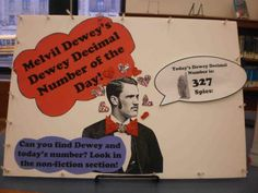 Behold! Melvil Dewey's Dewey Decimal Number of the Day!