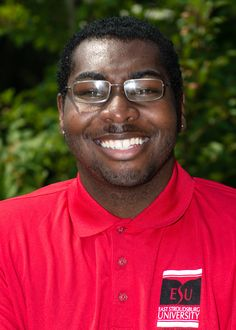 Hey Guys! My name is Shaq Roberts.  Im from Philly!  My major is Psychology/Social Work with a minor in  Spanish.  I like to be involved at ESU, so I am a part of the following organizations Psych Association, Active Minds, Independent Research group, Phi Sigma Pi Honors Fraternity, and RHA Community Board!  My favorite thing about ESU is the size of the school. There are enough students to see and meet new people everyday, but there are few of us to always see familiar faces!