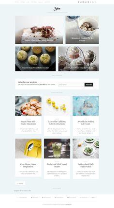 Blog Layout, Website Layout, Website Design Inspiration, Web Design Inspiration, Cosy Home Decor, Cooking Websites, Graphic Design Branding, Design Development, Recipe Blogs