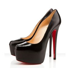 cheap Christian Louboutin Daffodile Black Pumps 160mm.Please click picture to buy and get more detail.