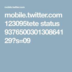 mobile.twitter.com 123095tete status 937650030130864129?s=09