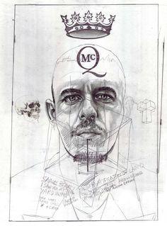 Alexander McQueen Illustrated By John Paul Thurlow    http://www.creativeboysclub.com/alexander-mcqueen-illustrated-by-john-paul-thurlow