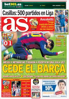 Neymar, Messi, Real Madrid, Canal 1, Spain Football, Fc Barcelona, Comic Books, Cover, Football Pictures