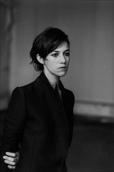 Peter Lindbergh, Charlotte Gainsbourg Charlotte Lucy Gainsbourg (born 21 July is a British-French actress and singer. She is the daughter of English actress Jane Birkin and French singer and songwriter Serge Gainsbourg.