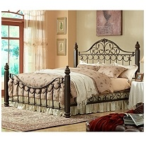 Sutton Metal Bed - King -- I really want this