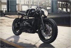 Ridin' In Style! BMW R100R By Diamond Atelier