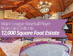 Major League #Baseball Player Brian Giles Sells His 12,000 Square Foot Estate in #SanDiego, #California! #RealEstate