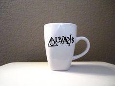 Always Harry Potter Mug -- Deathly Hallows symbol