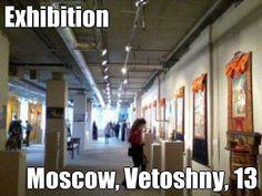 Exhibition Moscow, Vetoshny, 13 (courtesy of @Pinstamatic http://pinstamatic.com)