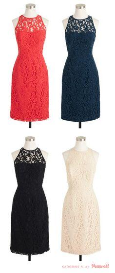 Cute, lace dresses!