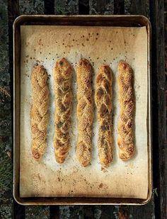 Braided Flatbread Challah..  go on...bake some..