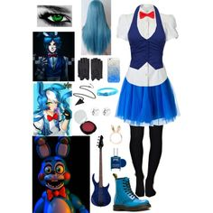 FNAF: Daughter of Toy Bonnie by ender1027 on Polyvore