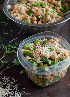 Spring Pea and Asparagus Pasta Salad